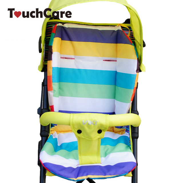 Cute Rainbow Cotton Soft Thick Baby Cushion Car Seat