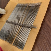 Free Shipping SK155 knitting machine crochet hook needles 17.5cm 50 pcs BROTHER/ SILVER REED machines fitting
