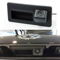 Car Trunk Handle Camera For Volkswagen Sharan Mk2 7N 2010-2018 For SEAT Alhambra 2010~2014 Rear View Camera HD CCD Night Vision