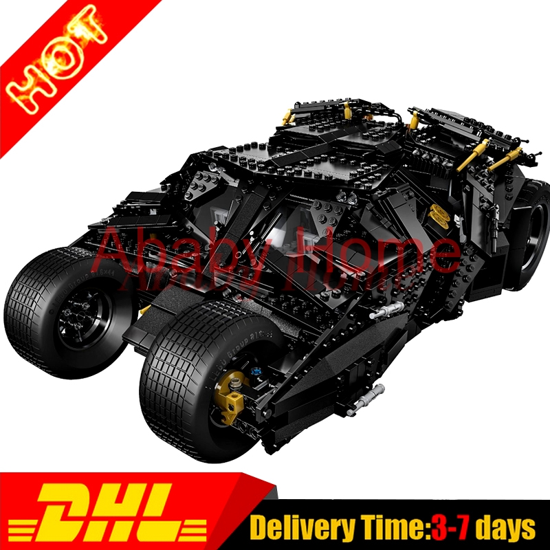 Decool 7111 LELE 34005 Super Heroes Batman The Tumbler Blocks Bricks year Gift Toys for children Clone 07060 building blocks super heroes batman chariot the tumbler batmobile batwing joker mini bricks 34005 07060 lepintoys