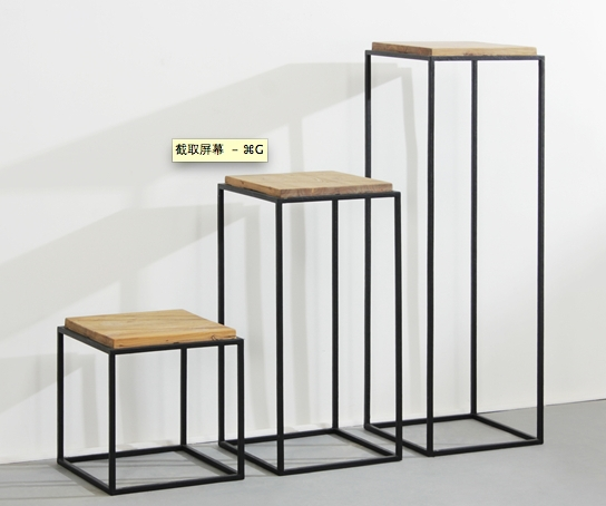 Industrial Loft Style Retro Furniture, Wrought Iron Wood Back A Few Nordic  Side A