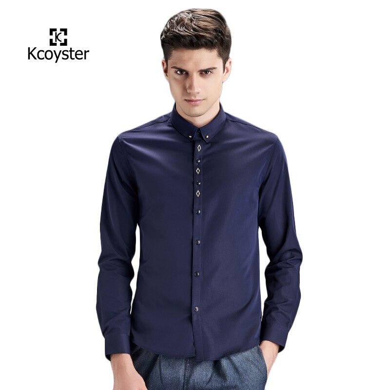 Navy Blue Mens Shirt