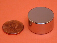 NdFeB Disc Magnet 15/16 dia.x1/2 thick Neodymium Permanent Magnets Grade N42 NiCuNi Plated Axially Magnetized ems SHIPPED 1 pack dia 4x3 mm jewery magnet ndfeb disc magnet neodymium permanent magnets grade n35 nicuni plated axially magnetized