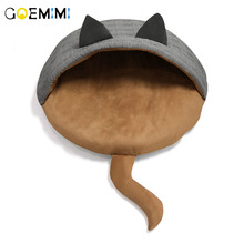 2019 Cat Bed House Kennel Nest Pet Litter Dog Sofa Cushion Animals Supplies Products kitten bed