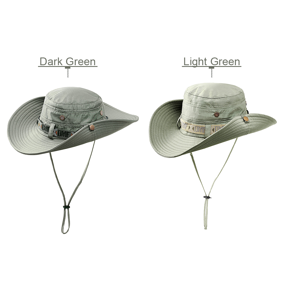 Fishing Clothing Outdoor Foldable Sun Hat Summer Safari Cap Fishing Hunting Hat Mountain Climbing Hat for Men Women Fishing Caps