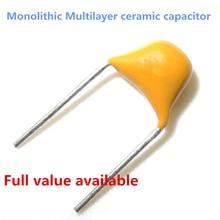 Original 50V 334 390 391 392 470 471 330nf 39pf 390pf 3.9nf 47pf 470pf monolithic Multilayer ceramic capacitor
