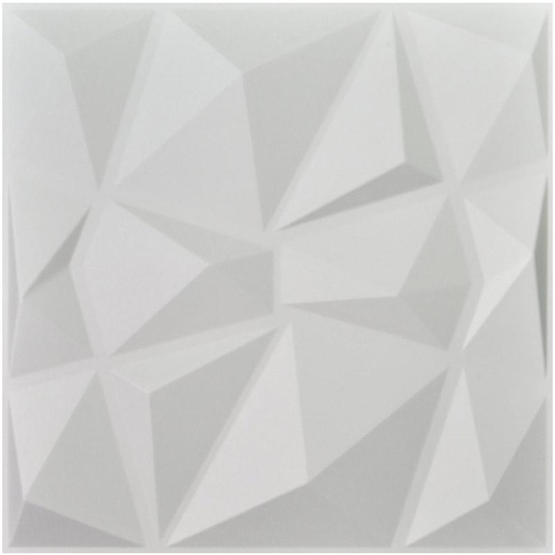 Los paneles de pared texturizados 3D del diamante 12 PC cubren 3m2 3D - Decoración del hogar - foto 2