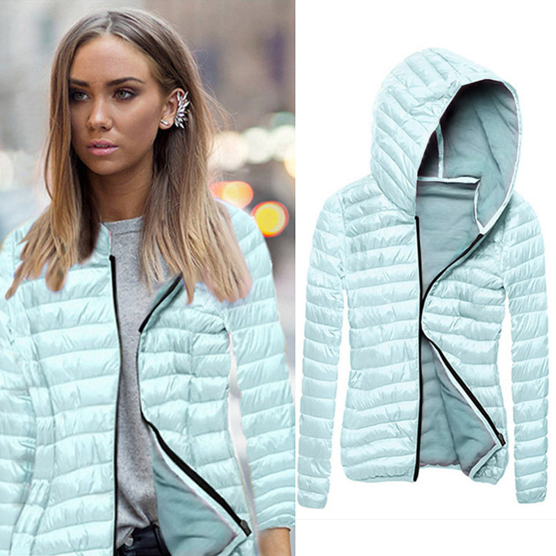 Fashion Winter Parkas Women Coat Outerwear Slim Harajuku Casual Parka Woman Clothes Ladies   Basic     Jackets   Casacos Feminino Warm
