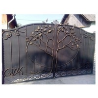 5 Foot Wrought Iron Fence And Gates Iron Safety Door Sliding Gates Beautiful Design Iron Gate