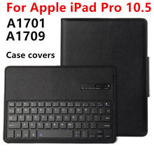Case For Apple iPad Pro 10.5 New 2017 Protective Wireless Bluetooth keyboard Smart cover Tablet For iPad10.5 pro10.5 PU Leather