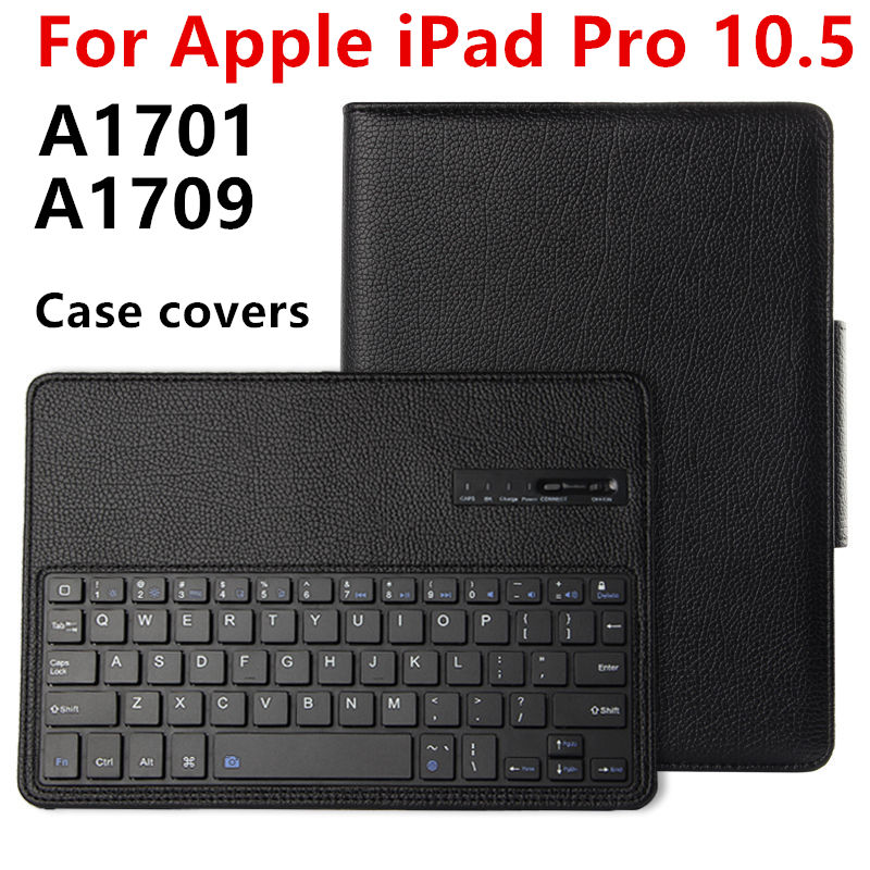 Case For Apple iPad Pro 10.5 New 2017 Protective Wireless Bluetooth keyboard Smart cover Tablet For iPad10.5 pro10.5 PU Leather universal 61 key bluetooth keyboard w pu leather case for 7 8 tablet pc black