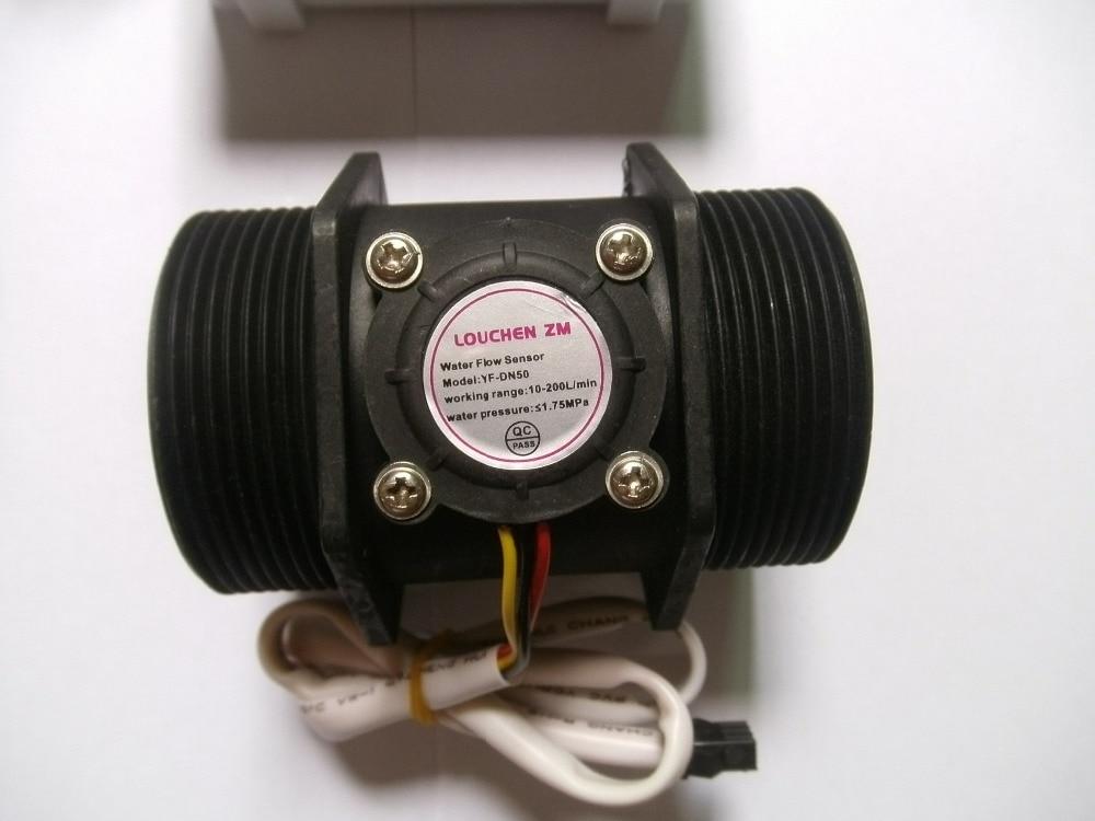 G 2 hüvelykes DN50 áramlási sebességű vízmérő mérő + LCD - Mérőműszerek - Fénykép 5