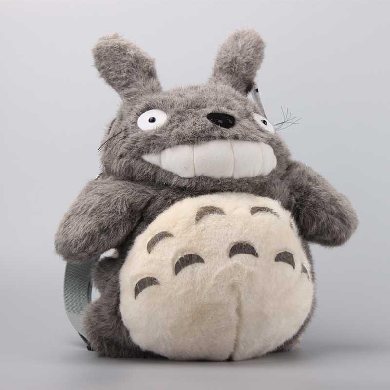 Sac à dos en peluche Totoro de haute qualité Ghibli mon voisin Totoro peluche douce poupées fille joli sac 43 cm