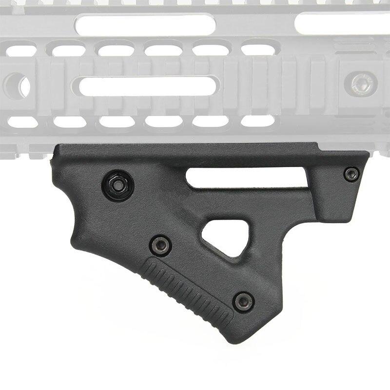 Tactical CL19 Triangle Grip Nylon Thumb Airsoft Grip For 21mm 22mm Width Rail black Toy Gun