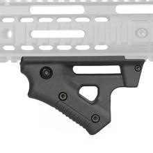 Тактический CL19 треугольник сцепление нейлон Thumb Airsoft ручка для мм 21 мм 22 мм ширина рельса Черный игрушечный пистолет Охотничьи аксессуары