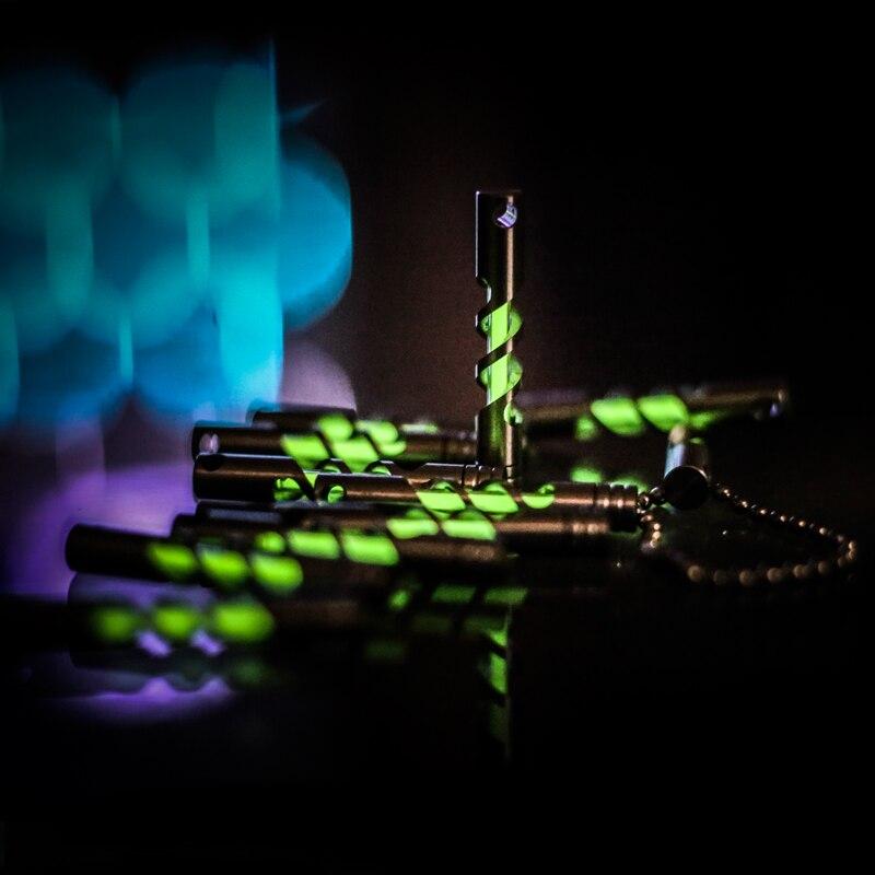 Tritium tube porte-clés avec tritium flacons 3mm * 22.5mm porte-clés notamment tritium lumière Automatique lumière 25 ans