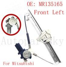 MR135165 For Mitsubishi Montero Pajero V46W V45W V44W V43W V36W mando elevalunas Front Left Door Power Window Regulator Motor