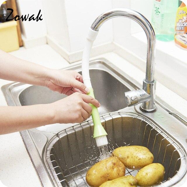 Accesorios de grifo de cocina agua ba o cepillos vegetal for Grifo cocina pared 15cm
