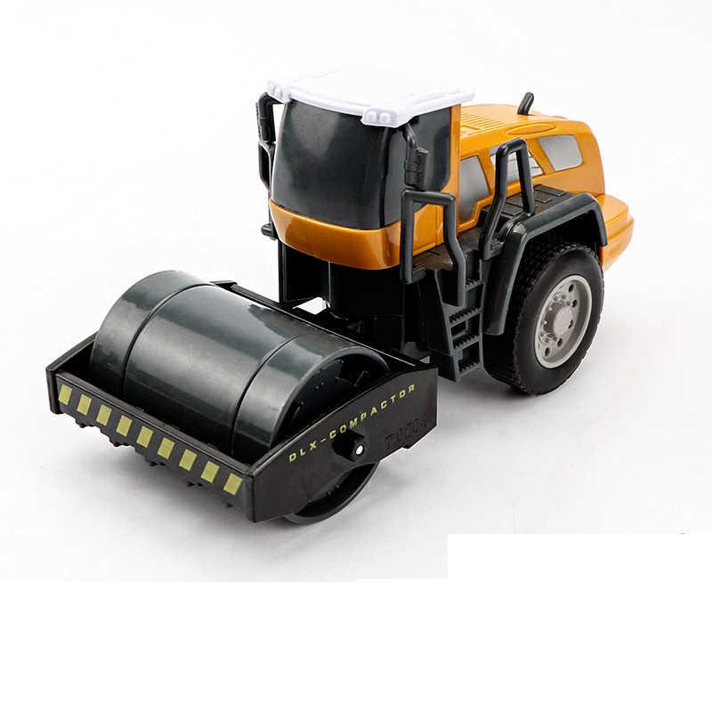 Aosst Anak Kendaraan Rekayasa Model Mainan Truk Mixer Excavator Anak Laki-laki Gadis Imitasi Inersia Mainan Anak-anak Paduan Toko Mainan