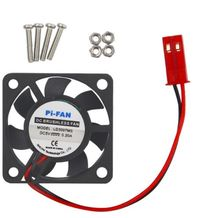 цена на 1PCS 5V 0.2A Cooling Cooler Fan for Raspberry Pi Model B+ / Raspberry Pi 2/3