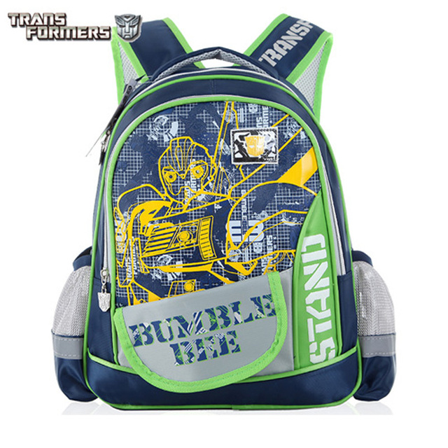 ac202c8d751b TRANSFORMERS children kids cartoon elementary school bag shoulder backpack  portfolio for boys grade 1-2