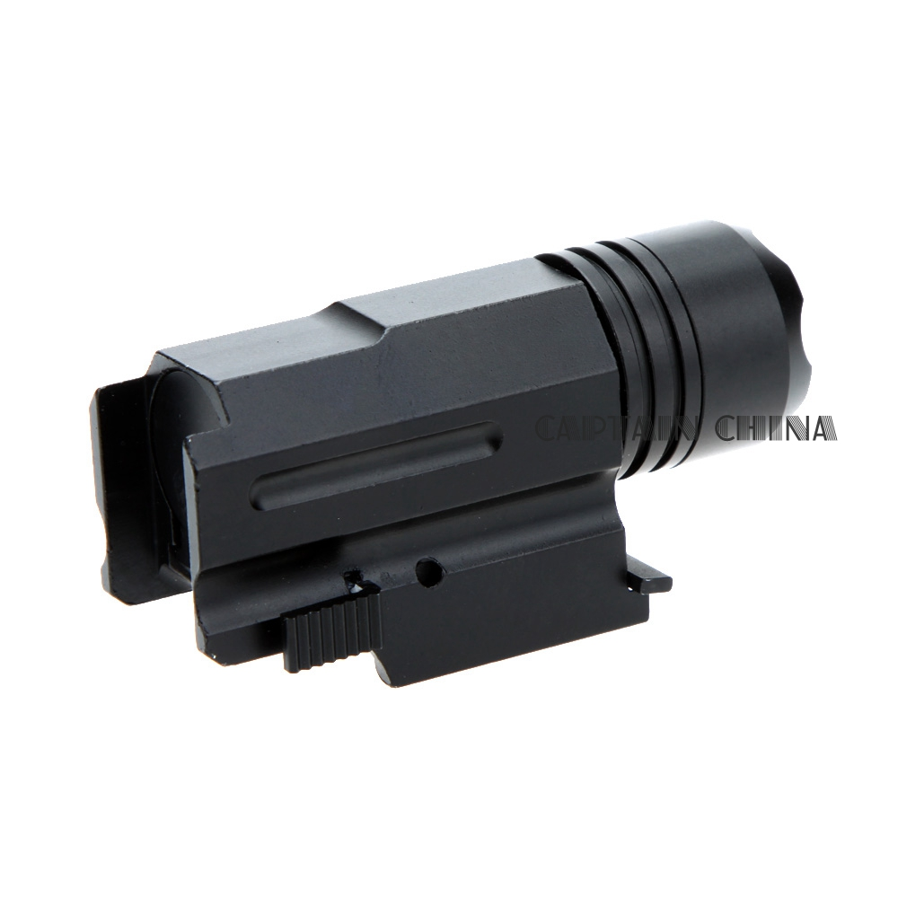 Escopeta LED Rifle Glock Gun Flash Light Tactical Torch Linterna con - Caza - foto 3