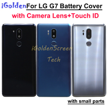 Back Cover Case Vervanging voor LG g7 Achter Behuizing Deur Batterij Cover voor LG G7 ThinQ G710 G710EM G710PM G710VMP terug behuizing
