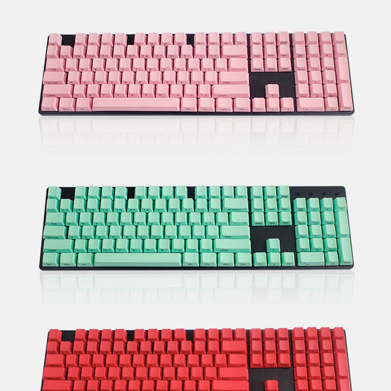 104 Keys Side Printed Key Caps Thick PBT Profile Keycaps DIY PBT Machanical Keyboard Switch Gamer For Cherry MX for Filco