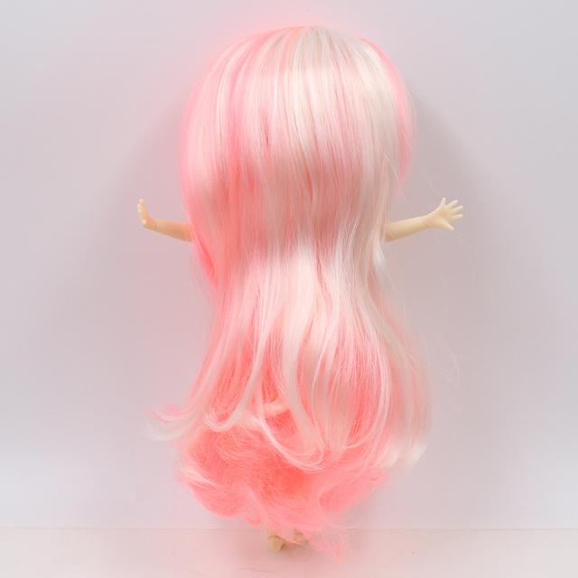 Middie Blyth doll Series Light pink mix cream white hair no bangs Transparent skin No.1263/3139/136