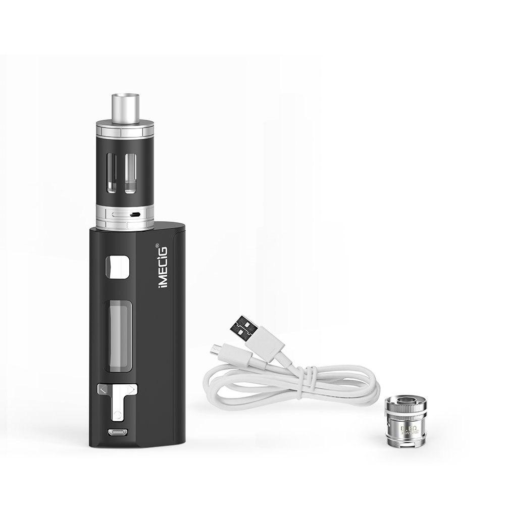 IMECIG Q5 Electronic Cigarette TC 80W 2500mAh Box Mod Vape Pen 0.5ohm Topfill liquid Atomizer e-cigarettes Vaporizer vs Smok 80w vel vel 03 06 04 02700