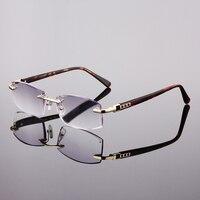 KOBIETY Szkło optyczne soczewki reading glasses Starczowzroczność 1.0 DO 4.0 Pen Case Kolor Losowo metalowe ramki Okularów 2017-04