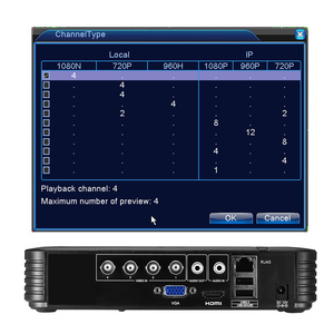 Image 2 - BESDER 4 Channel 8 Channel AHD DVR Surveillance Security CCTV Recorder DVR 4CH 720P / 8CH 1080N Hybrid DVR For Analog AHD IP