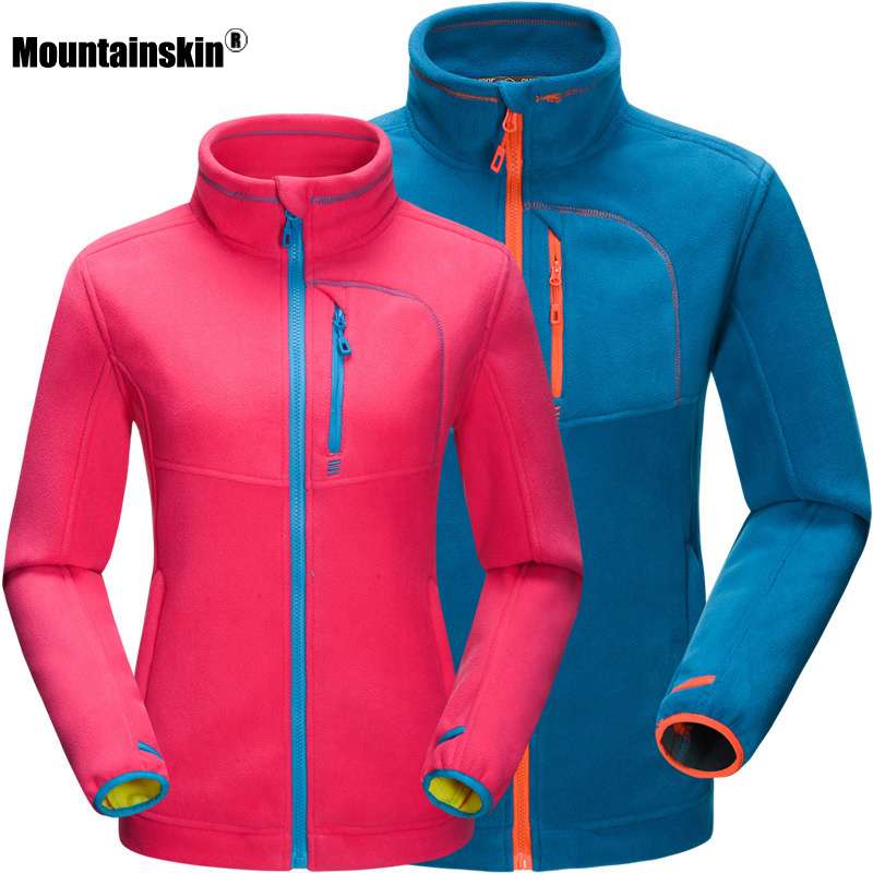 2018 High Quality Outdoors Hiking Fleece Jacket Men Thicked Polar Fleece Jacket Thermal Sports Winter Coats For Camping RM109