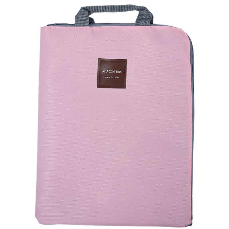 File-Folder Document-Bag Business-Briefcase Solid A4 For Papers Stationery Student Gift