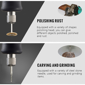 Image 3 - Tungfull Electric Drill Mini Polishing Machine Rotary Grinder Tool Mini Drill Variable Speed Rotary Power Tool Electric Engraver