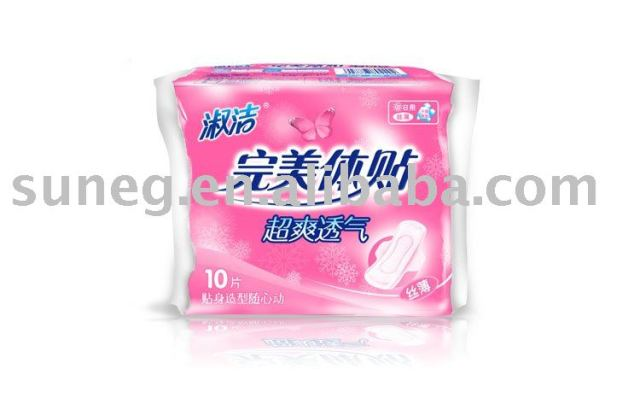 Free Shipping Popular 245mm 10P Sanitary towel Retail