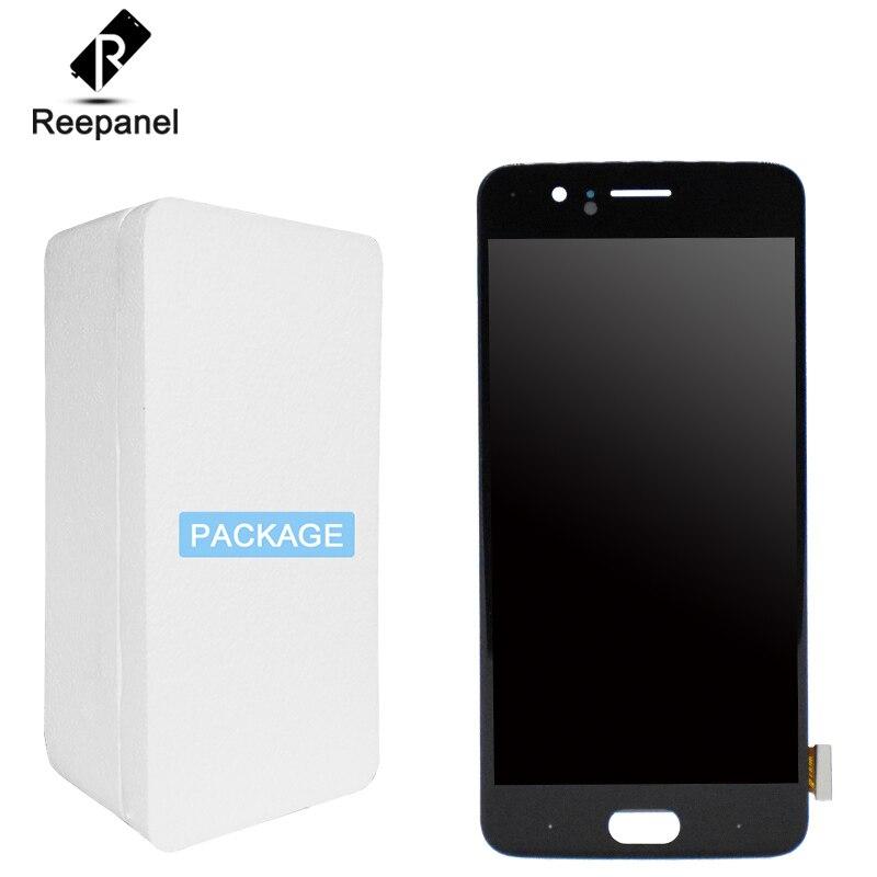 Testé Bien Pour Oneplus 5 Écran A5000 Écran LCD Tactile Digitizer Assemblée Pour OnePlus Cinq Écran Pour Un Plus 5 1 + 5 A5000 LCD