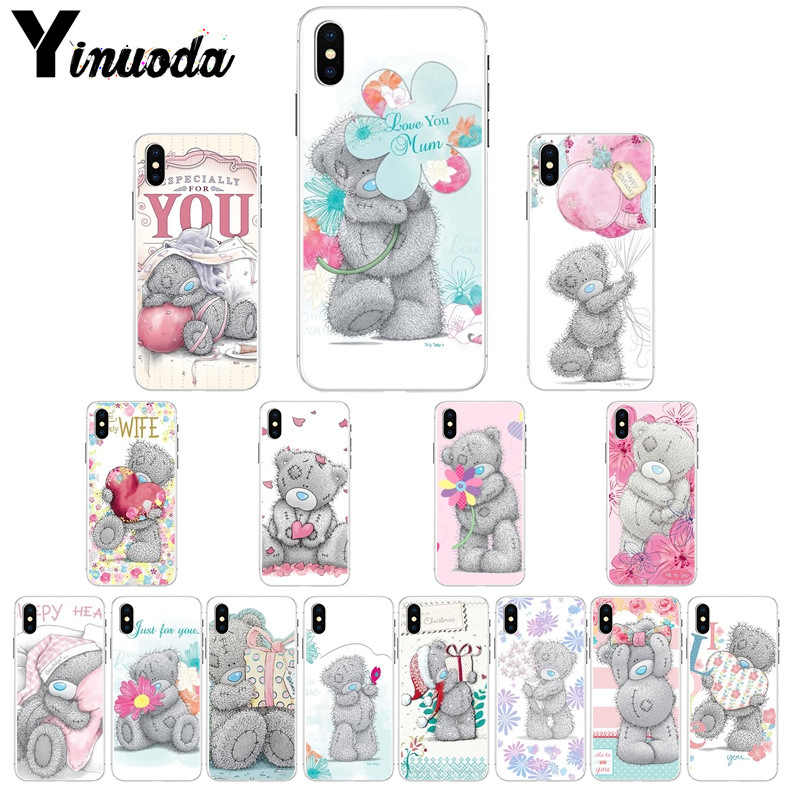 Yinuoda Tatty Teddy Ik Je Beer Custom Photo Soft Telefoon Case voor iPhone 5 5Sx 6 7 7 plus 8 8 Plus X XS MAX XR