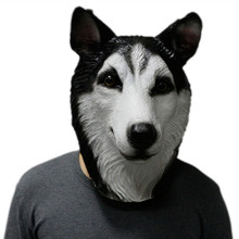 Hot Selling Newly Design Deluxe Quality Party Dress Adult Animal Latex Rubber Halloween Wolf Dog Mask