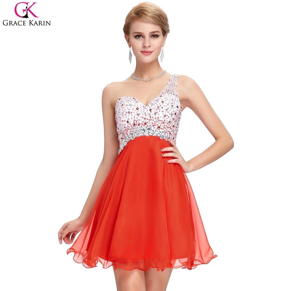 Online Get Cheap Orange Short Prom Dresses -Aliexpress.com ...