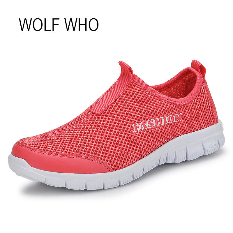 цены WOLF WHO 2018 Summer Women Sneakers Ladies Shoes Female Tenis Feminino Casual Basket Femme Chaussure Femme Slipony Women H-298