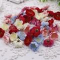 10PCS Mini Fabric Cherry Plum Blossom Artificial Flower Silk Baby Breath Floral Bouquet,Table Arrangements Weddding Decorations