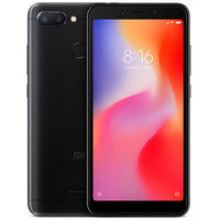 In Stock Global Version Xiaomi Redmi 6 4GB 64GB MTK Helio P22 Octa Core 5.45 Full Screen 12MP+5MP AI Dual Camera Smartphone CE