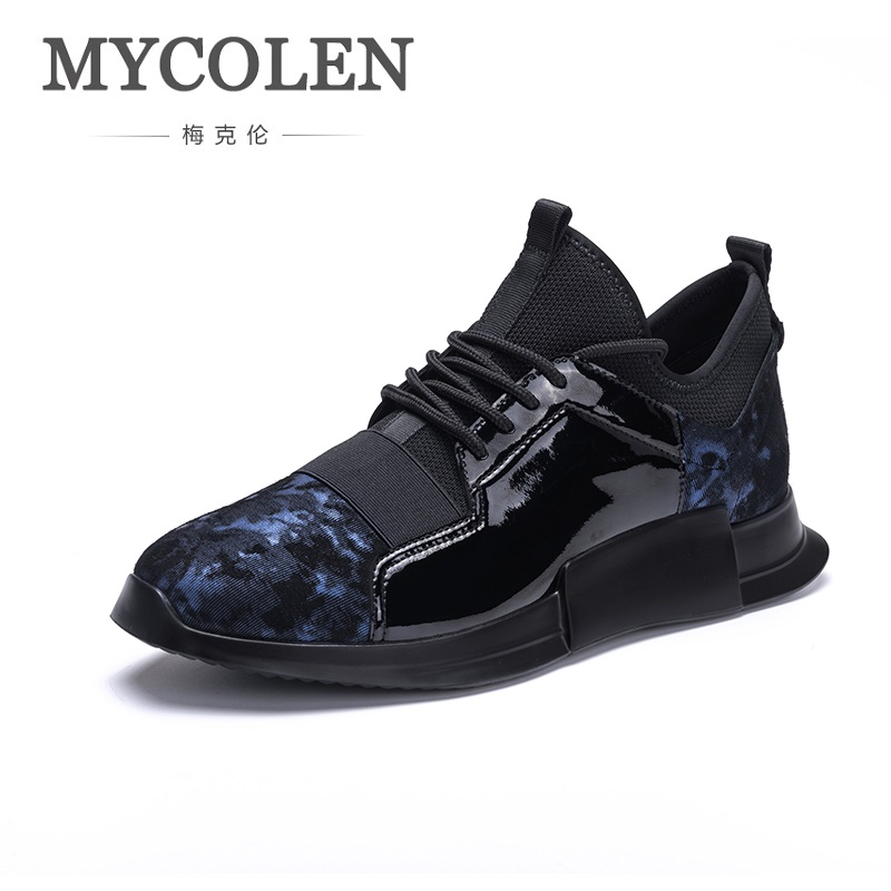 MYCOLEN Hot Brand Casual Shoes Men New Fashion Breathable Lightweight Lace-Up Male Shoes High-Top Luxury Product Man Shoes new men casual shoes soft leather men high top shoes fashion lace up breathable hip hop justin kanye west shoes red black white