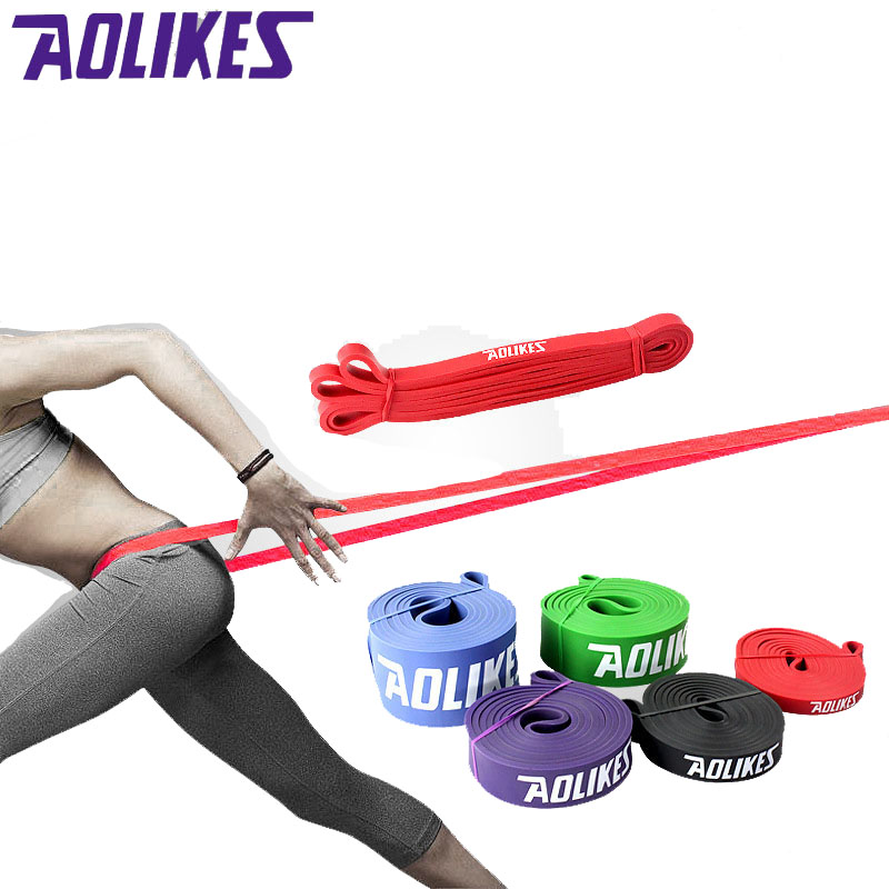5 Shaped Heavy Duty Rubber Loop Pull Rope Sports Stretch Belt Yoga Rop Tension Wrist Harness Yoga Rope Pilates Fitness Belt
