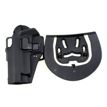 Tactical Left Hand CQC Pistol Holster Military Concealment Waist Belt Loop Paddle Holster for SIG SAUER