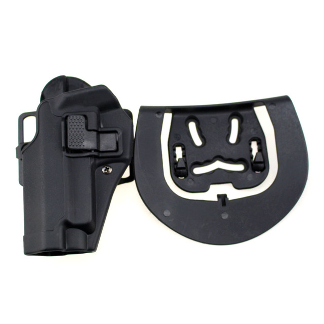 US $19 99 |Tactical Left Hand CQC Pistol Holster Military Concealment Waist  Belt Loop Paddle Holster for SIG SAUER P226 P229-in Holsters from Sports &