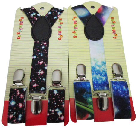 2018 New Fashion Children Starry Sky Printed Suspenders Braces For  Boys And Girls