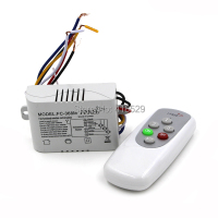 Hot Sale RF 3 Ways Port ON OFF 200V 240V Light Digital Wireless Wall Switch Remote