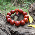 High-grade rosewood Prayer Beads Bracelet Elastic Women & men red sandalwood Buddha Bracelet Buddhist prayer beads 15/18/20 MM